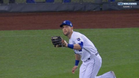 WS2015 Gm1: Gordon makes fine sliding catch in left
