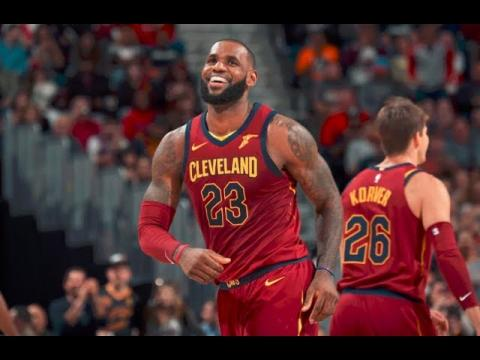LeBron James Starts at Point Guard and Leads Cavs to Win Over Bulls | 30 Points, 12 Assists