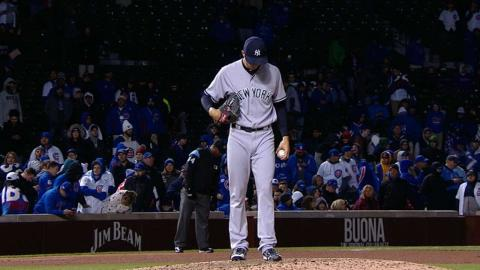 NYY@CHC: Shreve strikes out five over three innings