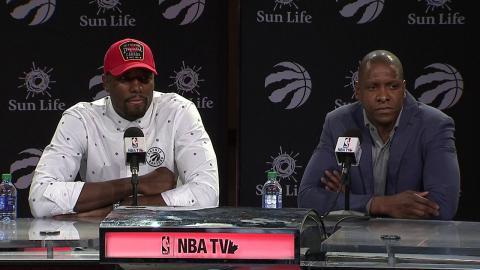 Serge Ibaka's Toronto Raptors Press Conference  | July 7, 2017