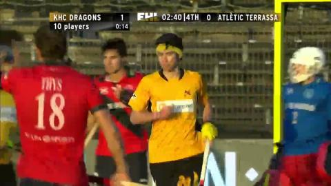 DRA 1-0 TER Good save by van Doren in the Dragons goal to retain their lead #EHL