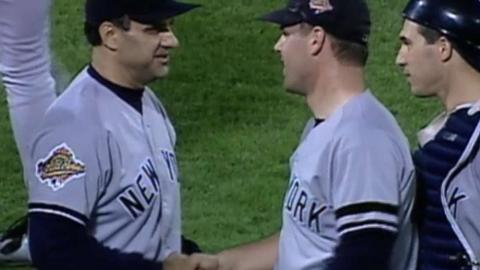 WS1996 Gm3: Yankees win first Series game since 1981