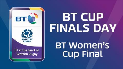 BT Women's Cup Final: Murrayfield Wanderers v Hillhead/Jordanhill
