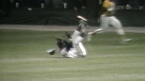 1983 ASG: Wilson robs Evans with a tumbling catch in the All Star Game