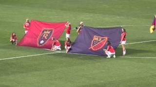 La Roca FC At The RSL/San Jose Soccer Game 5-1-15