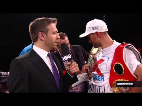 HBO Boxing News: Sergey Kovalev Post-Fight