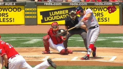 WSH@CIN: Zimmerman HRs for all-time franchise record