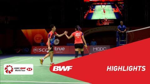 Princess Sirivannavari Thailand Masters 2018 | Badminton XD - SF - Highlights | BWF 2018