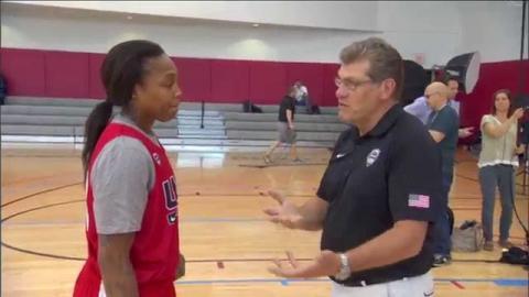 All-Access: 2015 USA Basketball Women's National Team Practice