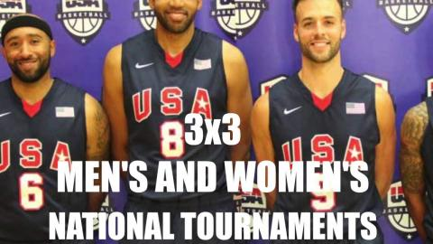 2016 USA Basketball 3x3 Men's and Women's National Tournament Preview