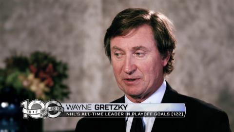 Memories: Gretzky records his 8th playoff hat trick