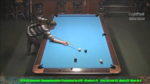 2015 US Amateur Championship Tina Larsen VS  Dana Aft