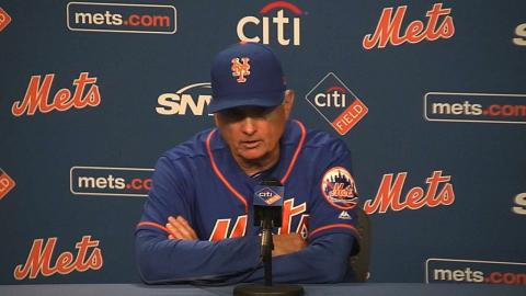 MIA@NYM: Collins on loss, good starting pitching