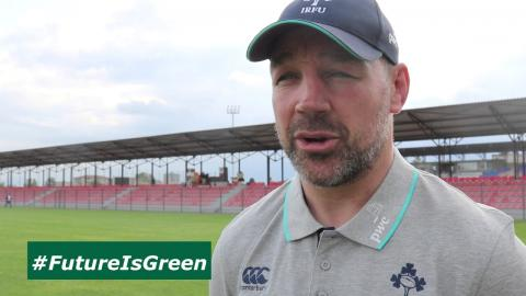 Irish Rugby TV :Peter Malone reflects on defeat to Italy
