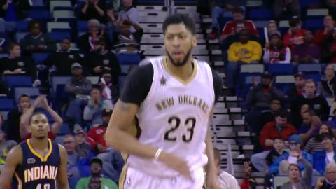 Anthony Davis 35 Points 16 Rebounds Leads New Orleans | 12.15.16