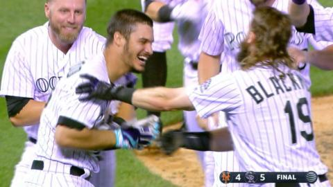 8/1/17: Arenado lifts Rockies over Mets with walk-off
