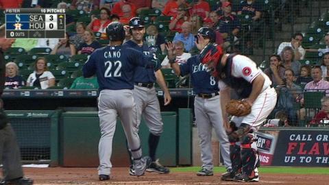 SEA@HOU: Cano belts his 36th homer of the season