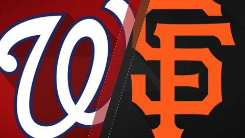 5/30/17: Balanced offense leads Nats over Giants, 6-3