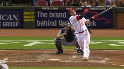 DET@CIN: Farmer gets Frazier swinging at strike three