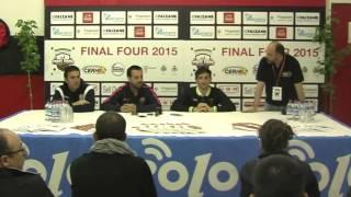 Final Four Of Rink Hockey Euroleague. Press Conference With The Coaches Of The Teams