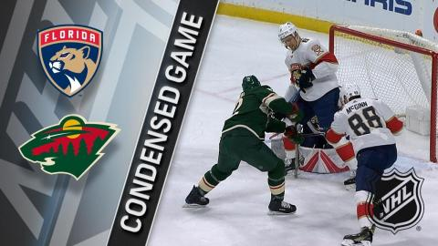 01/02/18 Condensed Game: Panthers @ Wild