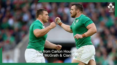 Irish Rugby TV: In The Chair with Jack McGrath & Cian Healy