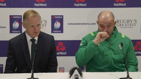 Joe Schmidt and Rory Best Press Conference at Launch 2018 | NatWest 6 Nations