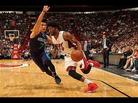 Justise Winslow Hits a Three then Slams It Home to Start Career