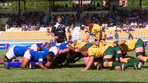 U20 HIGHLIGHTS: Australia beat Samoa in action-packed match