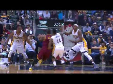 Tristan Thompson Puts Two Pacers on Poster!