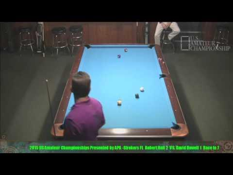 2015 US Amateur Championship David Rowell VS  Robert Hall