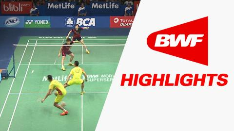 BCA Indonesia Open 2016 | Badminton F – Highlights