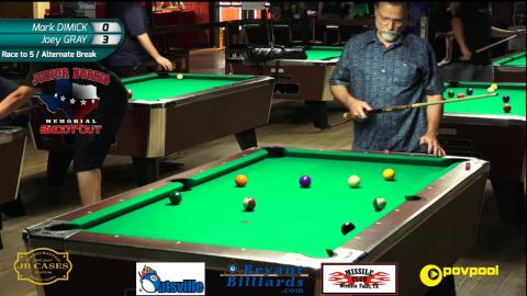 FINALS • Mark DIMICK vs Joey GRAY • 2017 Junior Norris 8-Ball