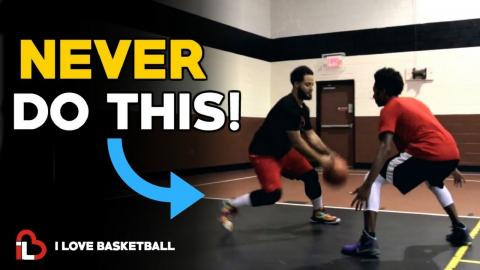 HOW TO STOP GETTING BALL STOLEN! Basketball Dribbling Tips