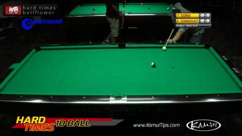 #5 - Ernesto DOMINGUEZ vs Tommy SORIA • 2016 Hard Times 10-Ball