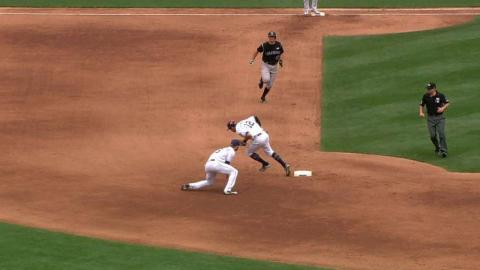 COL@SD: LeMahieu ruled safe following a review