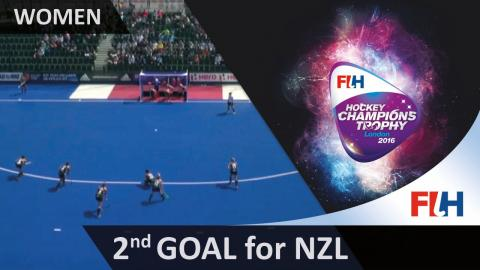 NZL 2-3 GBR A straight hit from Merry pulls New Zealand back into the match #HCT2016