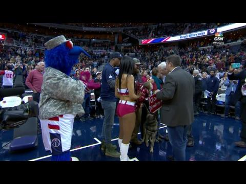 US Army Sergeant is Given a Free Home at Wizards Game