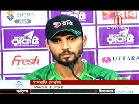 Bangladesh vs England 3rd ODI Cricket Match on 12 OCT & Mashrafe,Moin Talking