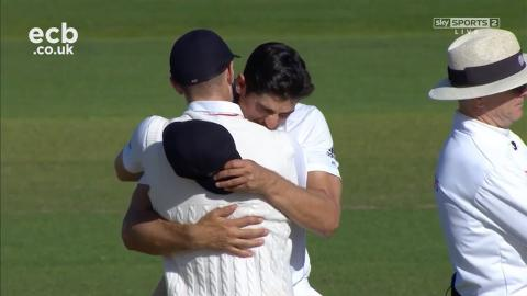 """""""One of my favourite wins."""" Alastair Cook - England beat Pakistan"""