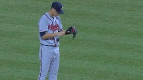 ATL@ARI: Wisler tosses eight innings of two-hit ball