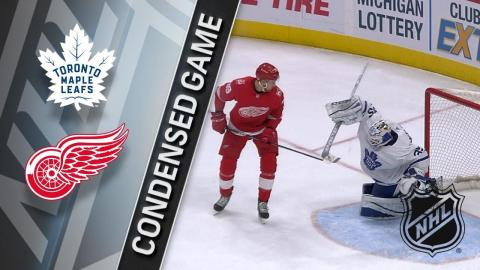 02/18/18 Condensed Game: Maple Leafs @ Red Wings