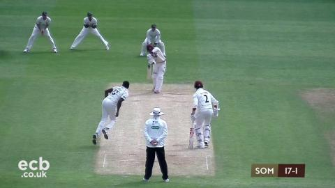 Somerset on top as wickets tumble - Day 2