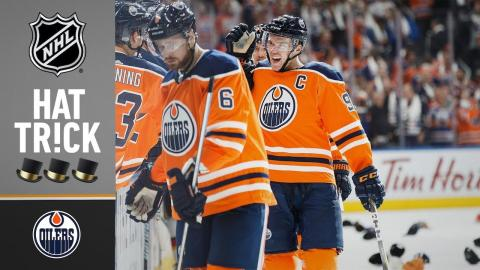 McDavid opens season with hat trick