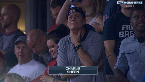 WS2016 Gm7: Celebrities take in can't-miss Game 7
