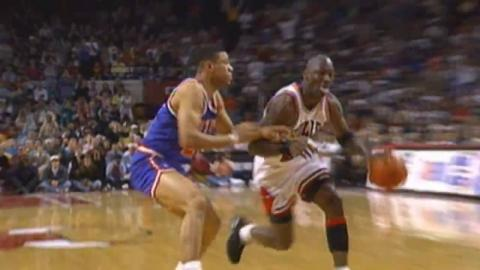 Memorial Day NBA Vault: Michael Jordan Scores 54 Points on the Knicks in Game 4 of the 1993 ECF