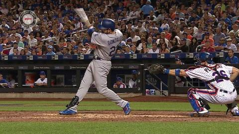 LAD@NYM: Adrian extends lead with RBI single to right