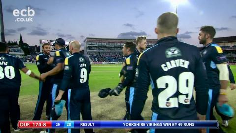 Vikings go huge against the Jets - NatWest T20 Blast Highlights