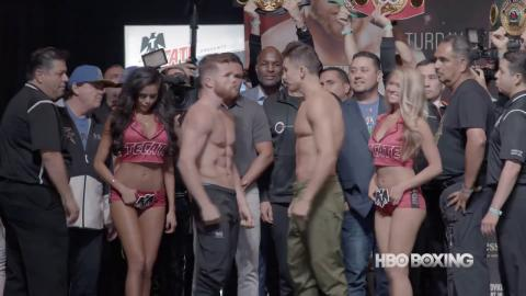 Canelo-Golovkin Weigh-In Recap (HBO Boxing News)