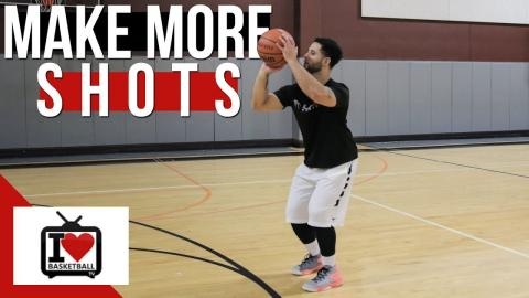 How To Shoot A Basketball Better In Real Games!